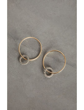 Pave Double Hoop Earring by Bcbgmaxazria
