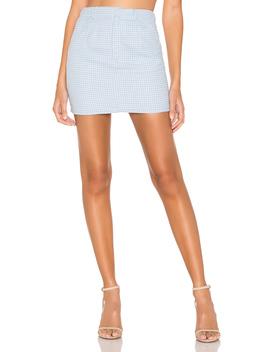 Carter Mini Skirt by Superdown