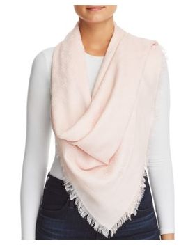Logo Jacquard Traveler Scarf by Tory Burch