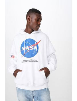License Oversized Graphic Hoodie by Cotton On