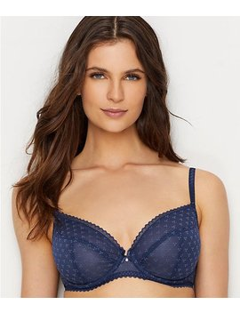 Courcelles Lace Convertible Plunge Bra by Chantelle