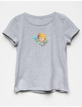 White Fawn Angel Girls Tee by White Fawn