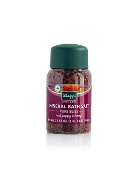 kneipp-mineral-bath-salt,-pure-bliss,-red-poppy-&-hemp,-1763-fl-oz by kneipp