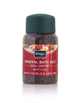 Kneipp Mineral Bath Salt Back Comfort Devils Claw, 17.63 Oz by Kneipp