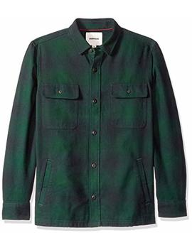 Amazon Brand   Goodthreads Men's Heavyweight Flannel Shirt Jacket by Goodthreads