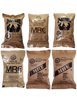 Western Frontier Ultimate Mre, Pack Date Printed On Every Meal   Meal Ready To Eat. Inspected Certified Genuine Mil Surplus. by Western Frontier