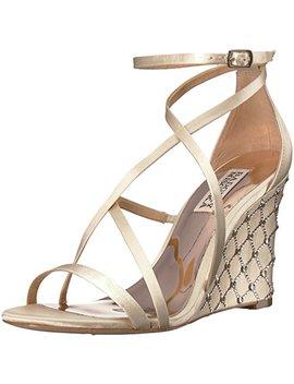 Badgley Mischka Women's Shelly Wedge Sandal by Badgley Mischka