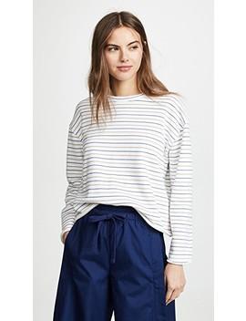 Triple Stripe Sweatshirt by Vince