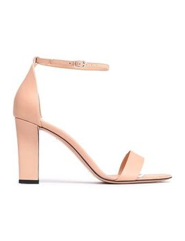 Leather Sandals by Victoria Beckham