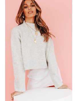 e9fd638368c267 VERGEGIRL. In Office Knit // Grey. VIEW MORE AT VERGEGIRL · Phenomenal  Women Ribbed Knit Top ...