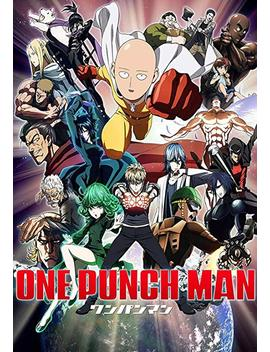"One Punch Man Japanese Anime Art Fabric Cloth Rolled Wall Poster Print Size(20x13"") by Casimoo"