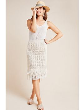 Fringed Crochet Skirt by Maeve
