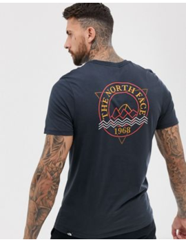The North Face   Ridge   T Shirt In Marineblauw by The North Face