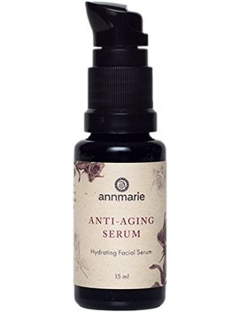 Annmarie Skin Care Anti Aging Serum   Hyaluronic Acid Serum With Rose Distillate + Life Everlasting Flower Extracts (15ml / 0.5 Fl Oz) by Annmarie Skin Care