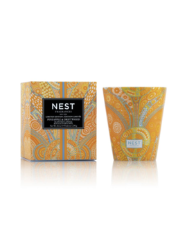 Pineapple & Driftwood Scented Candle by Nest Fragrances