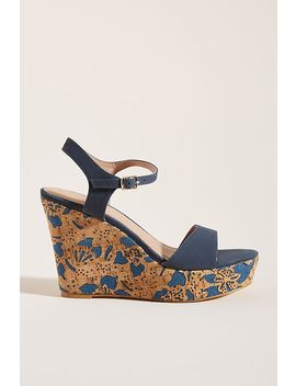 Anthropologie Arden Cork Platform Sandals by Anthropologie