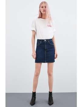 7beae2ffe7ea0b Shoptagr | Mini Jupe En Jean Jupes Denim Femme Corner Shops by Zara