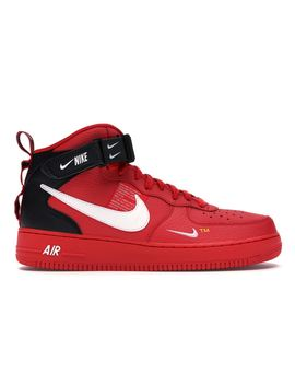 f1eca6ca Shoptagr | Air Force 1 Mid Utility University Red by Stock X