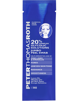 20% Complex Glycolic Solutions Jumbo Peel Swab by Peter Thomas Roth