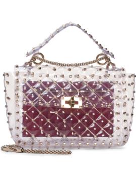 Rockstud Transparent Shoulder Bag by Valentino Garavani