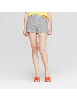 womens-striped-seersucker-high-rise-chino-shorts---a-new-day-navy_white by rise-chino-shorts