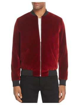 Velluto Velvet Bomber Jacket   100% Exclusive by The Kooples