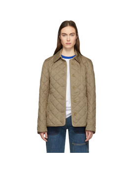 Beige Frankby Jacket by Burberry