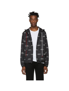 Black Mikael Jacket by Moncler