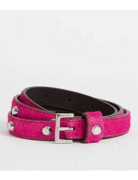 Aimee Leather Belt by Allsaints