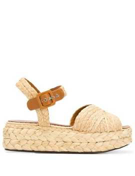 Cross Strap Sandals by Clergerie