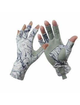 1 Pair Aventik Fingerless Fishing Gloves Outdoor Fingerless Gloves For Men&Women by Aventik