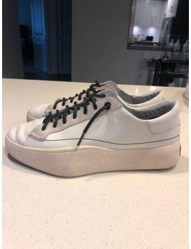 Y 3 Yohji Yamamoto Solid Navy Royal Blue 'qasa' Casual High Sneakers Sz 10.5 Nwt by Y 3