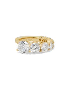 Aria 18 Karat Gold Diamond Ear Cuff by Melissa Kaye