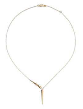 Aria 18 Karat Gold Diamond Necklace by Melissa Kaye