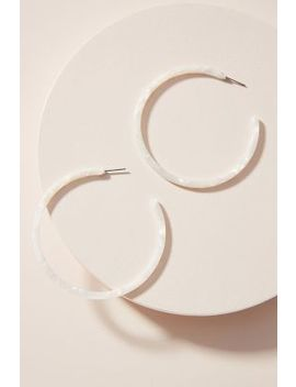 Cloud Hoop Earrings by Anthropologie