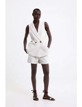 Pocket Shorts Formal Shorts Woman by Zara