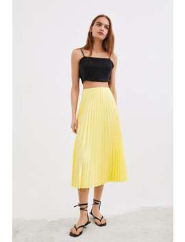Pleated Skirt View All Knitwear Woman by Zara