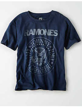 Ae Ramones Vintage T Shirt by American Eagle Outfitters