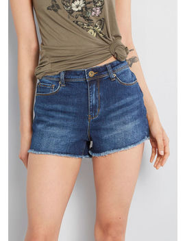 Come Cheerfully Denim Shorts by Modcloth