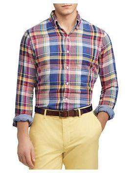 Double Face Plaid Classic Fit Button Down Shirt by Polo Ralph Lauren