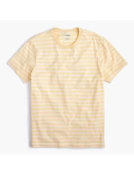 Essential Crewneck T Shirt In Horizon Stripe by J.Crew