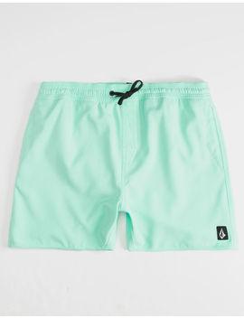 Volcom Lido Mint Mens Volley Shorts by Volcom