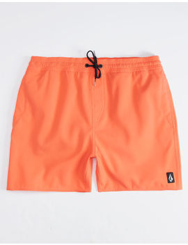 Volcom Lido Coral Mens Volley Shorts by Volcom