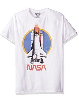 Nasa Men's Space Short Sleeve Graphic T Shirt by San