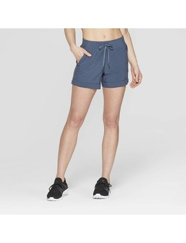 Women's Woven Mid Rise Shorts   C9 Champion® by Rise Shorts
