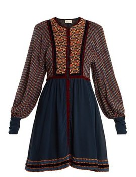Athena Ashanti Print Silk Dress by Talitha