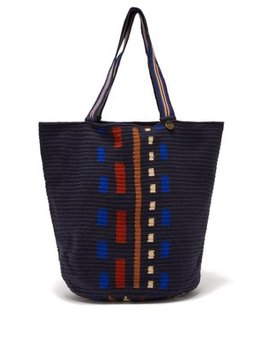 Striped Crochet Bag by Guanabana