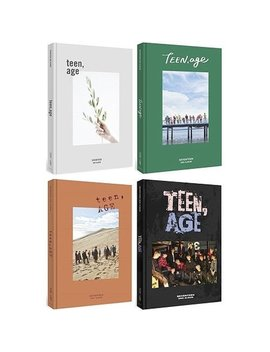 Seventeen Teen,Age 2nd Album 4 Ver Set+Poster+Photobook+Card+F.Poster+Sticker+Etc+Tracking Number by Amazon