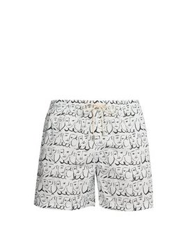 X Luke Edward Hall Swim Shorts by Le Sirenuse Positano