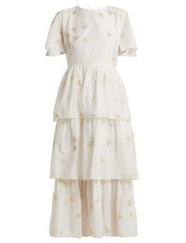 In The Morning Tiered Dress by Athena Procopiou